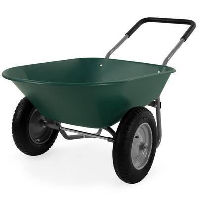 5 cu. ft. Steel Wheelbarrow