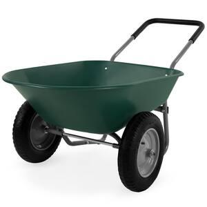 5 cu. ft. Plastic Wheelbarrow