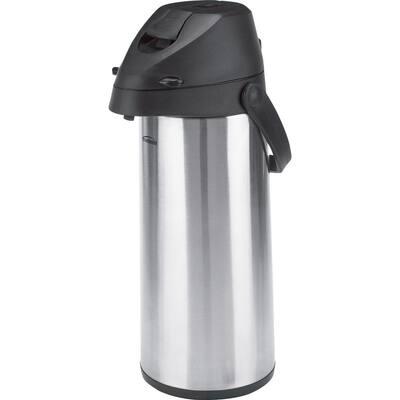 Alpha 64 oz. Stainless Steel Pump Pot