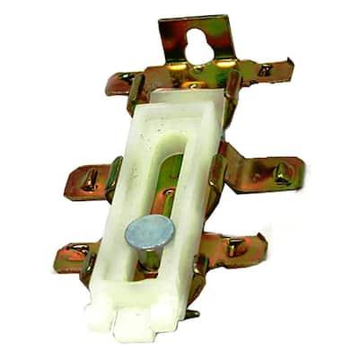 2-7/8 in. Bottom Guides for Steel Framed Mirror Doors (2-Pack)