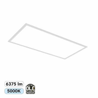 2 ft. x 4 ft. 400-Watt Equivalent White Integrated LED Backlit Troffer, 6375 Lumens, 5000K Daylight