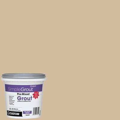 SimpleGrout #122 Linen 1 Qt. Pre-Mixed Grout