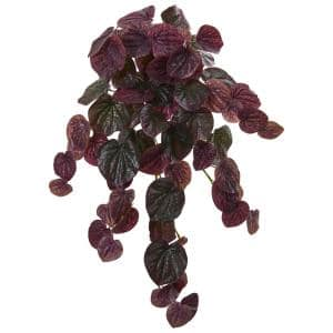 Nearly Natural Indoor 23 Coleus Bush Artificial Plant Set Of 6 6204 S6 The Home Depot