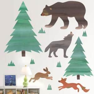 Multi-Color Call of The Wild Wall Decal