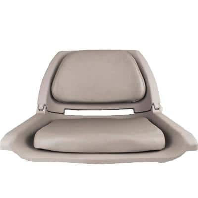 Padded Flip Boat Seat, Gray