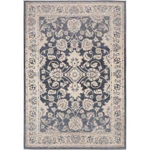 Aidyn Black 5 ft. 3 in. x 7 ft. 3 in. Area Rug