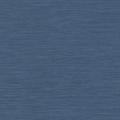 Coastal Hemp Dreamy Ocean Blue Vinyl Strippable Roll (Covers 60.75 sq. ft.)
