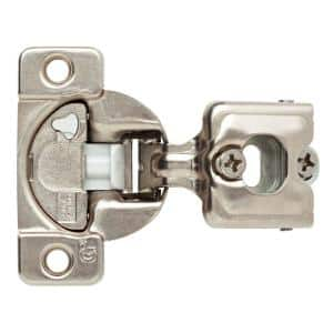 35 mm 110-Degree 3/4 in. Overlay Soft Close Cabinet Hinge 1-Pair (2 Pieces)