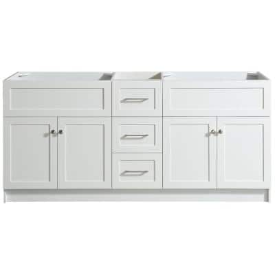 72 Inch Vanities And Larger Bathroom Vanities Without Tops Bathroom Vanities The Home Depot