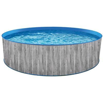 12 ft. Round 36 in. D Capri Steel Wall Pool Package