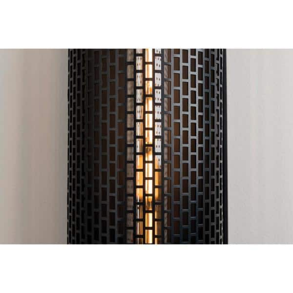 Mitzi By Hudson Valley Lighting Britt 2 Light Old Bronze Wall Sconce H151102 Ob The Home Depot