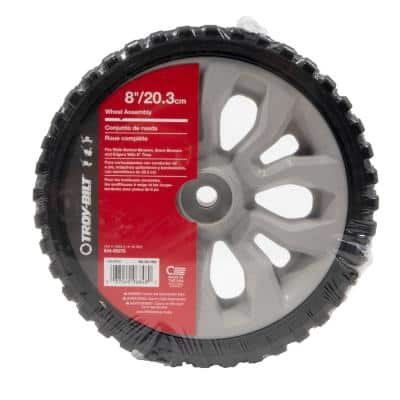 Original Equipment 8 in. Wheel Assembly for Select Walk Behind Lawn Mowers OE# 634-05275