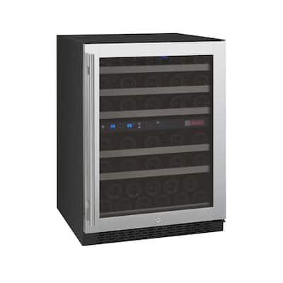 FlexCount II Dual Zone 56-Bottle Built-in Wine Refrigerator