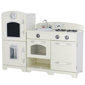 Little Chef Fairfield Retro Play Kitchen - White