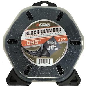 .095'' Black Diamond Trimmer Line (253 ft.) Large Clam