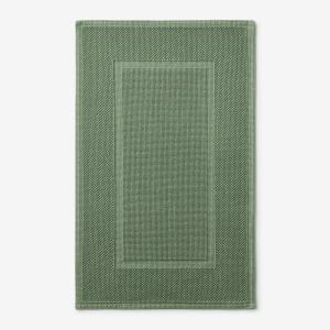 Legends Luxury Sterling Loden Green 50 in. x 30 in. Cotton Bath Mat