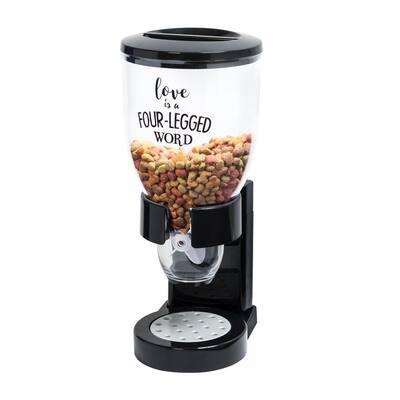 8 in. x 13.5 in. Plastic Pet Food Dispenser