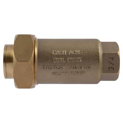 3/4 in. BF-1 Series Dual Check Backflow Preventer