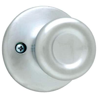 Tylo Satin Chrome Half-Dummy Door Knob