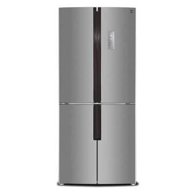 15 cu. ft. 4-Door French Door Refrigerator in Stainless Look