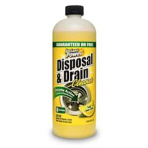 33.8 oz. Disposal and Drain Cleaner Lemon