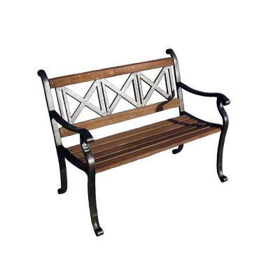 Triple Cross Patio Bench