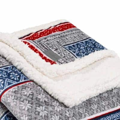 Oversized Ultra Plush Sherpa Throw