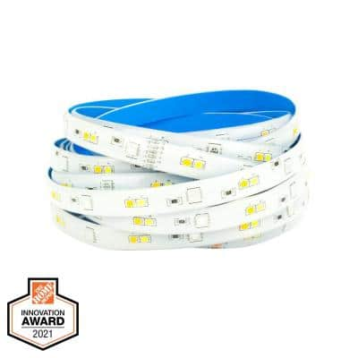 16 ft. Smart Hubspace RGB and Tunable White Tape Light Works with Amazon Alexa and Google Assistant