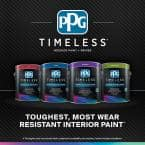 Ppg Timeless 1 Gal Hdppgwn46 Soft Suede Flat Interior One Coat Paint With Primer Hdppgwn46 01f The Home Depot