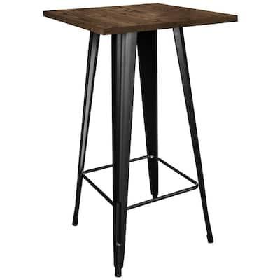 Loft Style Black Pub/Bar Table