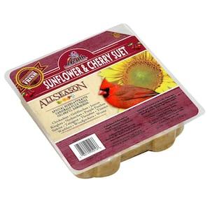 Sunflower and Cherry Suet Cake - 12-Pack - 10 oz.