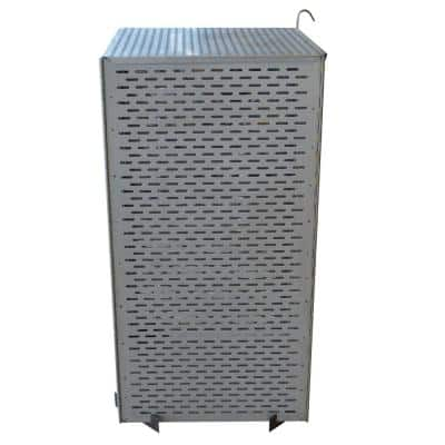 43 in. Steel Folding Burn Cage and Fire Pit Screen