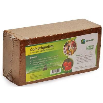 1.5 lbs. Coco Coir Briquette Potting Soil (1-Pack)