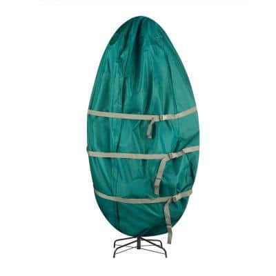 Green Standing Tree Storage Bag for Trees Up to 6 ft. Tall