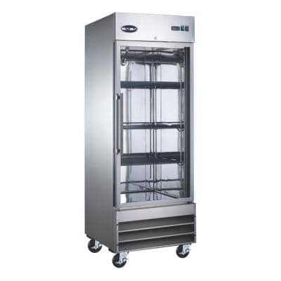29 in. W 23 cu. ft. Freezerless Commercial Refrigerator in Stainless Steel