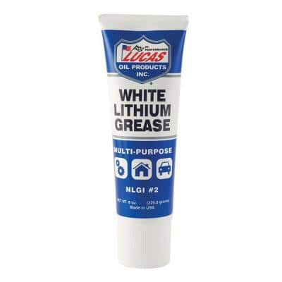 8 oz. Lithium Grease in White