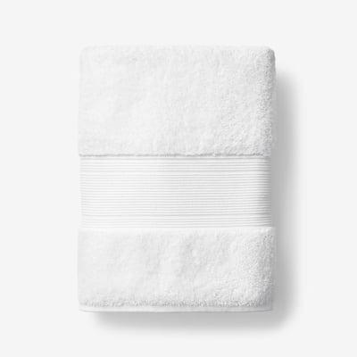 Legends Regal White Solid Egyptian Cotton Bath Towel
