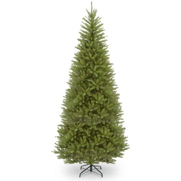 National Tree Company 14 Ft Dunhill Fir Slim Artificial Christmas Tree Duslh1 140 The Home Depot