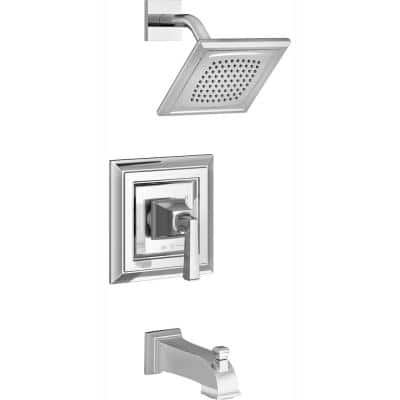 Town Square S Tub and Shower Faucet Trim Kit for Flash Rough-in Valves in Polished Chrome (Valve Not Included)
