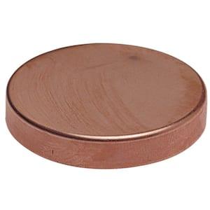 1-1/2 in. Copper Test Cap Fitting