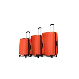 Royal lightweight hardside spinner 3 piece Set 20'', 24'', 28'' Orange