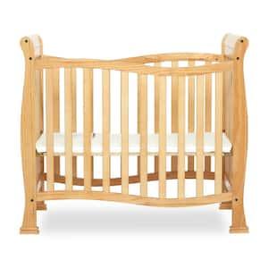 Piper 4-in-1 Natural Convertible Mini Crib