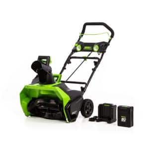 PRO 20 in. 60-Volt Battery Cordless Single-Stage Snow Blower with 6.0 Ah Battery and Charger