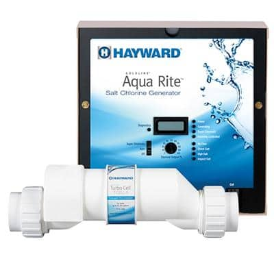 AquaRite Salt Chlorinator with TurboCell for 40K Gallon In Ground Pools