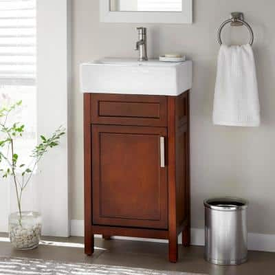 18 Inch Vanities Bathroom Vanities Bath The Home Depot