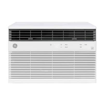 10,000 BTU 115-Volt Smart  Window Air Conditioner with WiFi and Remote in White, ENERGY STAR