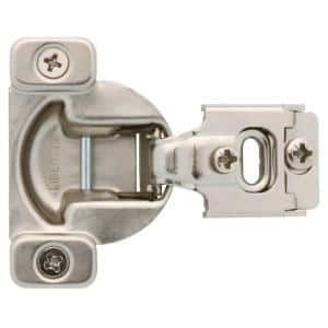 35 mm 105-Degree 1/2 in. Overlay Cabinet Hinge 1-Pair (2 Pieces)