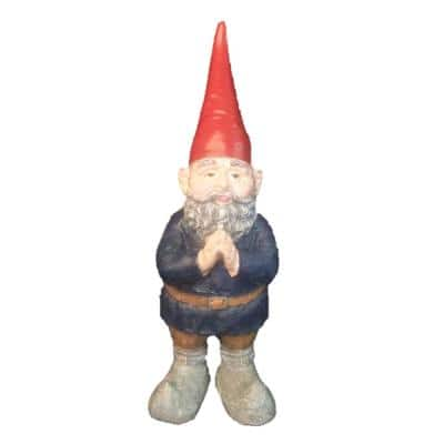 32 in. H Giant Mordecai The Garden Gnome Praying Hands Statue