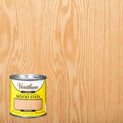 8 oz. Natural Classic Wood Interior Stain (4-Pack)