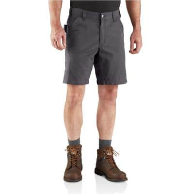 Men's 36 in. Shadow Cotton/Polyester BS4196 Force Relaxed Fit Ripstop Utility Short